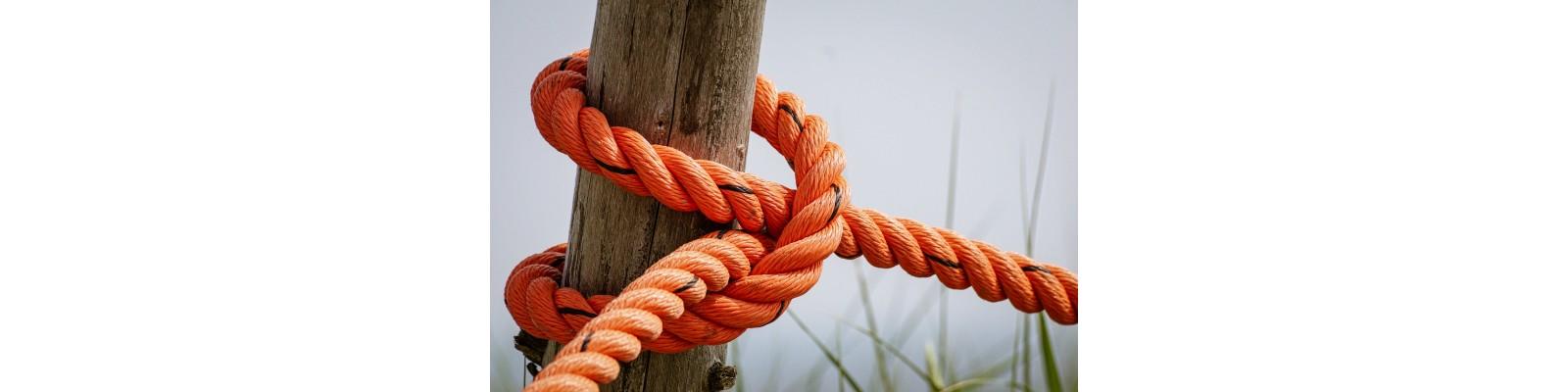 Tipuri de materii prime folosite pentru realizarea snururilor si franghiilor