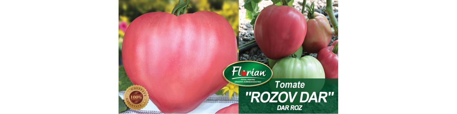 Soiul de tomate bulgaresti, Rozov Dar, Florian