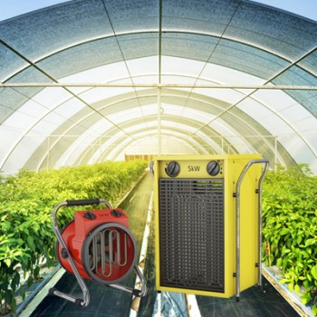 Incalzitoare pentru sere, solarii si spatii inchise