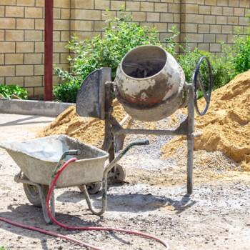 Roabe, betoniere, lize
