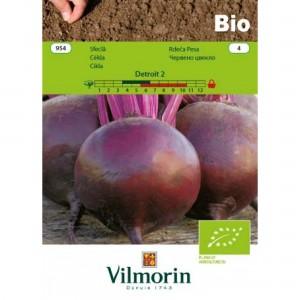 Seminte bio de sfecla rosie, 5 grame, vilmorin