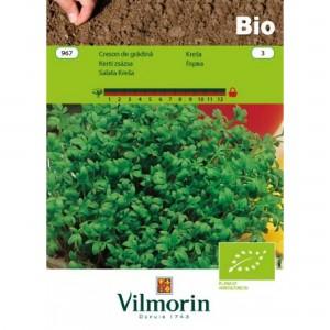 Seminte bio de creson de gradina, 3 grame, vilmorin