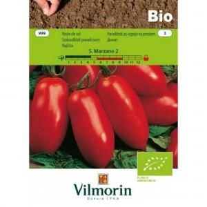 Seminte bio de tomate San Marzano, 0,35 grame, vilmorin