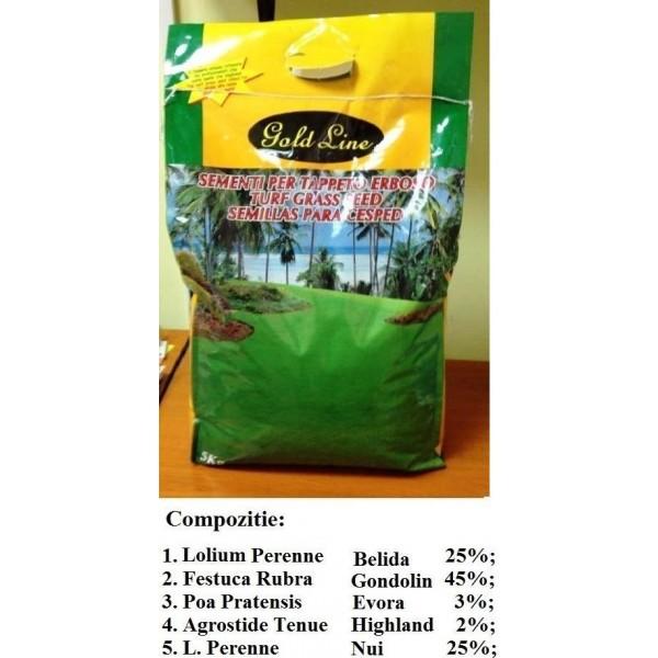 Seminte de gazon extrafin, 5 kg