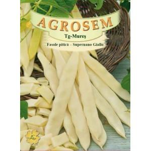 Seminte de fasole pitica galbena Supernano Giallo, 1 Kg
