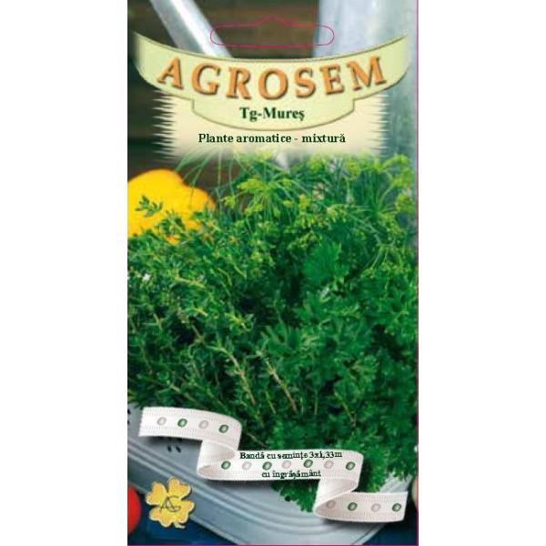 Banda cu seminte de plante aromatice, mixtura - 3 bucati
