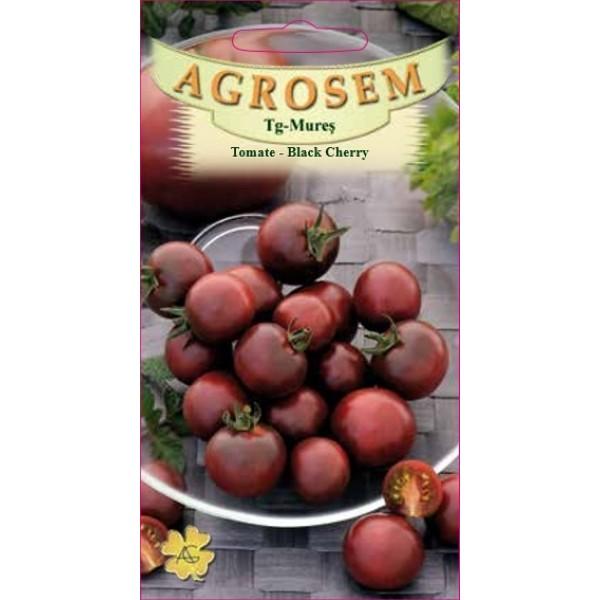 Seminte de tomate cherry negre timpurii nedeterminate Black Cherry - 0,3 grame