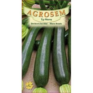 Seminte de dovlecel zucchini Black Beauty, 3 grame, Agrosem