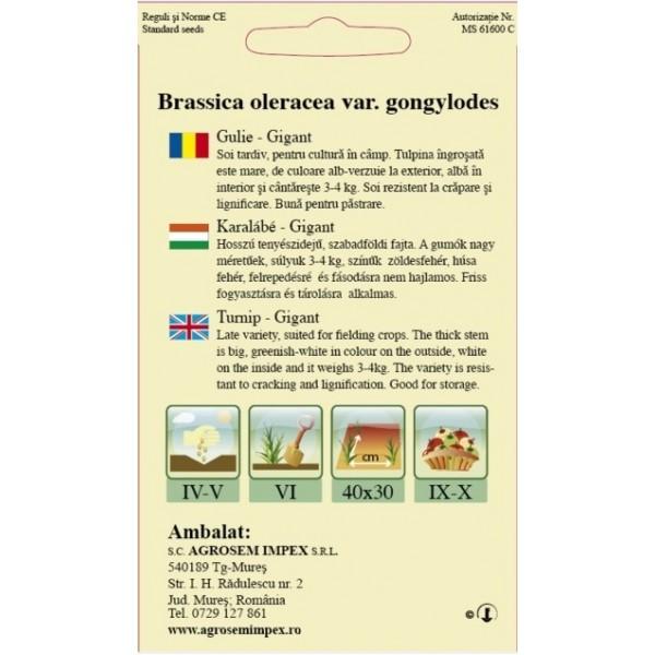 Seminte de gulii gigant, 2 grame