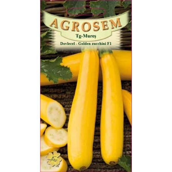 Seminte de dovlecel Golden Zucchini F1, 2 grame