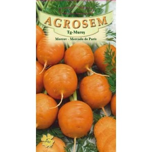 Seminte de morcov rotund Mercado de Paris, 3 grame