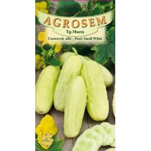 Seminte de castraveti cornichon albi paris small white, 1,5 grame