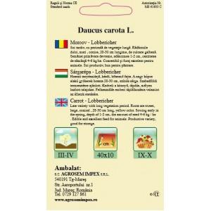 Seminte de morcovi lobbericher, 4 grame
