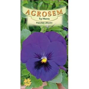 Seminte de flori panselute albastre, 0,15 grame, Agrosem