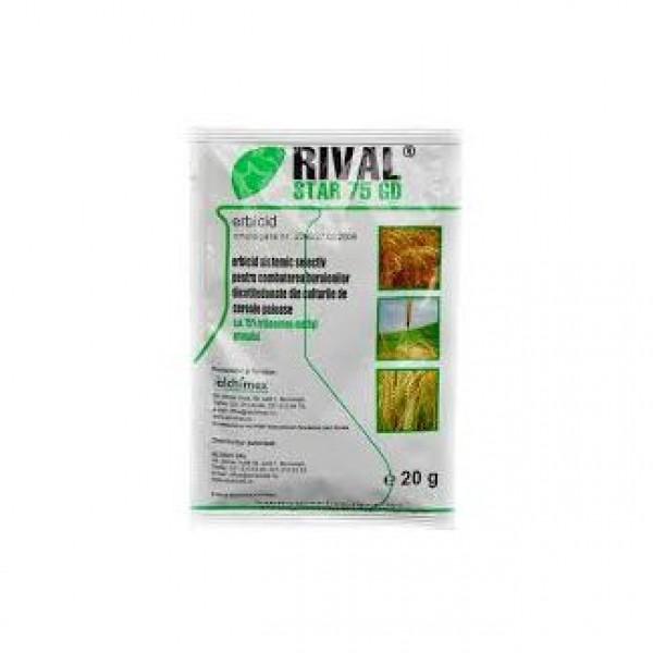 Erbicid Rival Star 75 GD, 20 grame, Du Pont