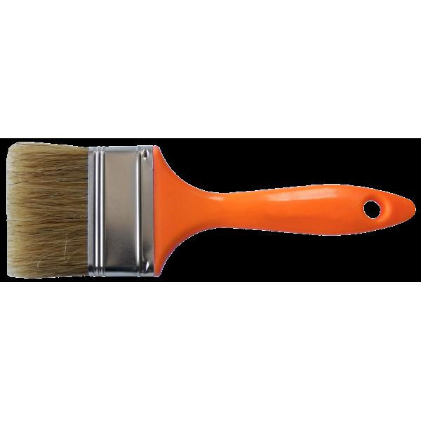 Pensula cu maner din plastic orange / B[mm]: 25