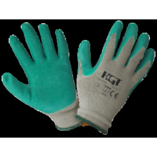 Manusi de protectie ETS din latex, tricotate, masura 10, culoare verde, Evotools