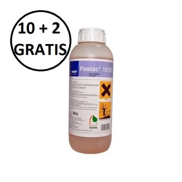 Pachet promotional Insecticid Fastac Active, 10 litri + 2 litri GRATIS