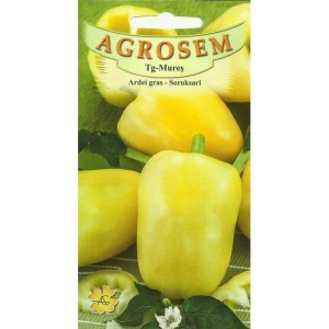 Seminte de ardei gras Soroksari, 1 gram, Agrosem