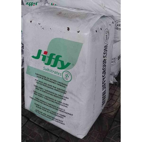 Turba blonda pentru semanat si repicat TPS, granulatie fina, 0-8 mm, PH-5,8, volum 225 litri, Jiffy