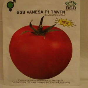 Seminte de tomate Vanesa F1, 5 grame