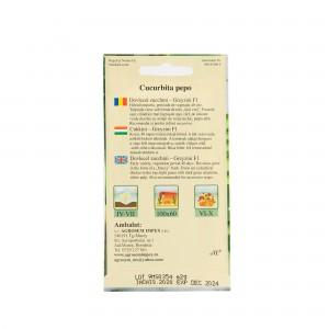 Seminte de dovlecel zucchini Greyzini F1, 2 grame