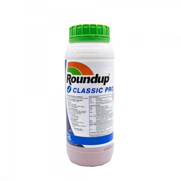 Erbicid Roundup Classic Pro, 1 litru, Monsanto