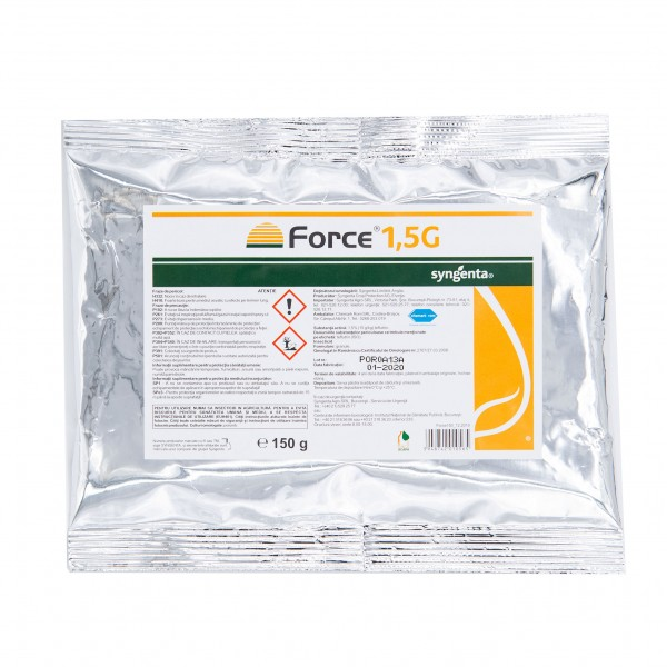 Insecticid Force, 1.5 G, 150 grame, Syngenta