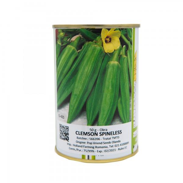 Seminte de bame Clemson, 50 grame, Pop Vriend Seeds