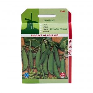 Seminte de mazare Kelvedon Wonder, 100 grame, Pieterpikzonen