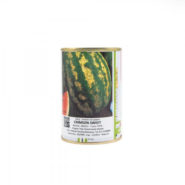 Seminte de pepene verde Crimson Sweet, 100 grame, Pieterpikzonen