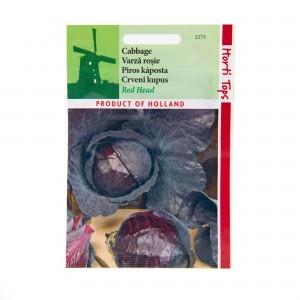 Seminte de varza rosie timpurie, 2 grame, Horti Tops
