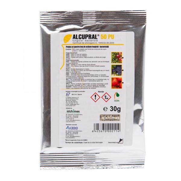 Fungicid Alcupral 50 PU, 30 grame, Alchimex