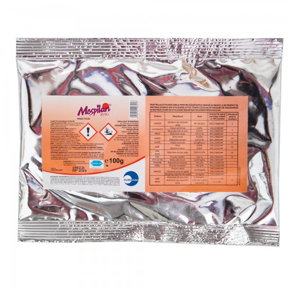 Insecticid Mospilan 20 SG, 100 grame, Nippon Soda