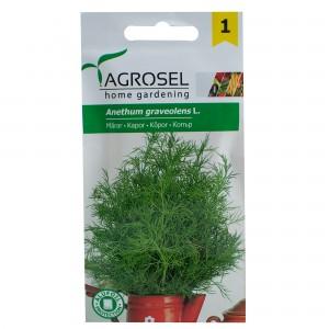 Banda cu seminte de marar Agromar, 3 bucati x 1,67 metri, Agrosel