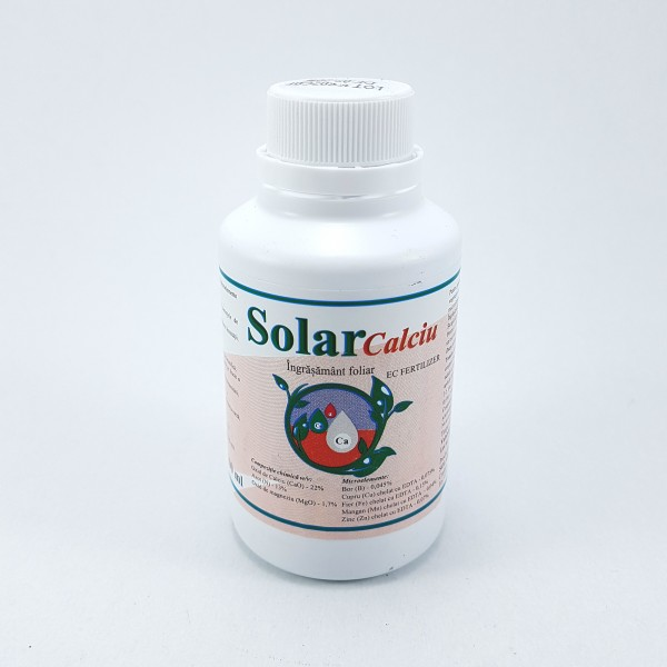Ingrasamant foliar Solar Calciu, 100 ml, Solarex