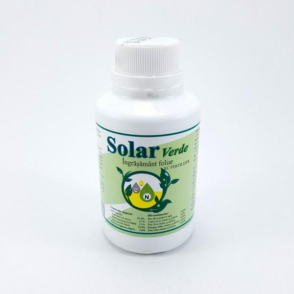 Ingrasamant foliar Solar Verde, 3 litri, Solarex