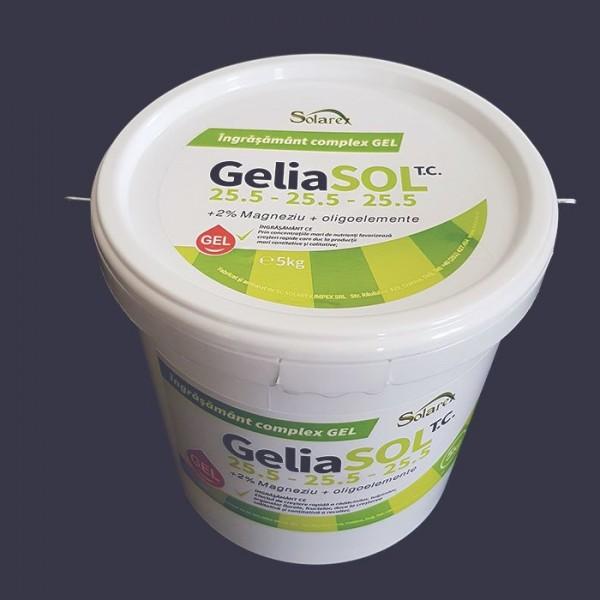 Ingrasamant gel GeliaSol 25.5 – 25.5 – 25.5 +MgO + Me, 12 Kg