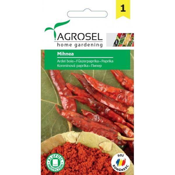 Seminte de ardei pentru boia Mihnea, 0,5 grame, PG-1, Agrosel