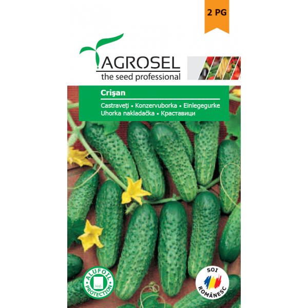 Seminte castraveti Crisan, 2 grame, Agrosel