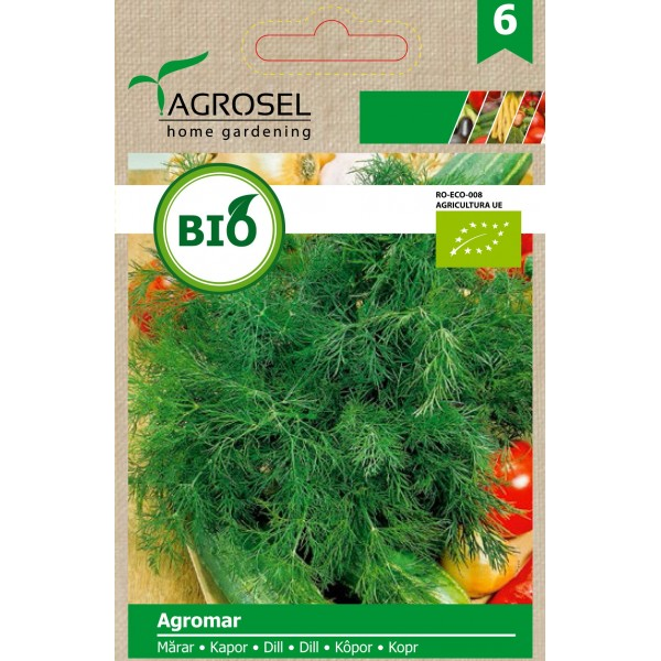 Seminte BIO de marar Agromar, 3 grame, PG-6, Agrosel