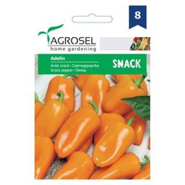 Seminte de ardei Adelin, 0.25 grame, PG-8, Agrosel