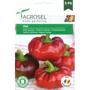 Seminte de ardei gogosar semitarziu Vlad, 1.5 grame, PG-3, Agrosel