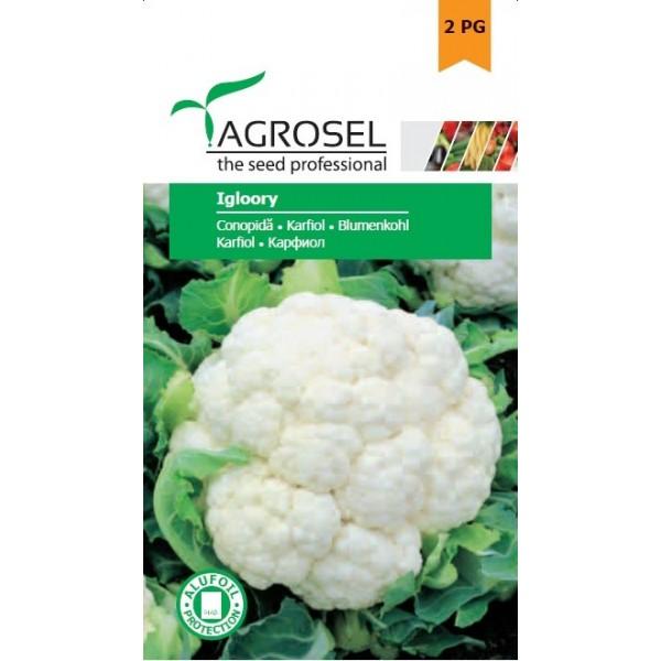 Seminte de conopida Igloory, 1 gram, PG-2, Agrosel