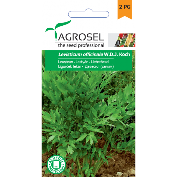 Seminte de leustean, 1 gram, PG-2, Agrosel