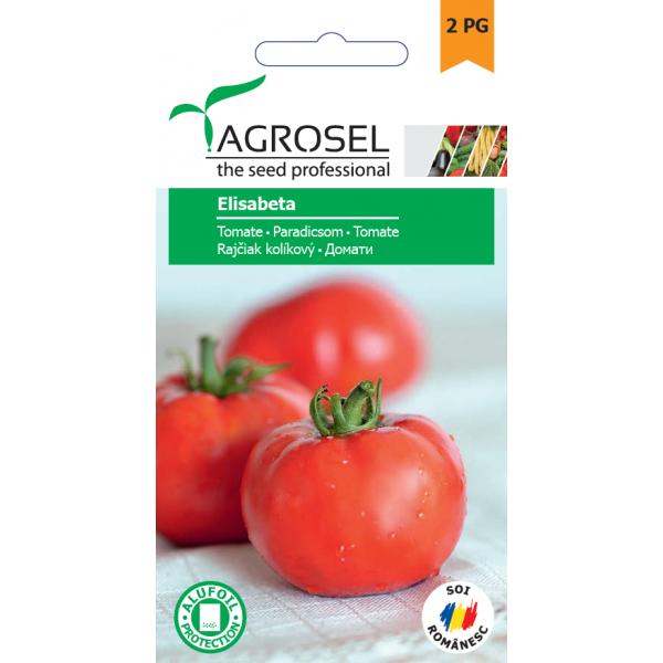 Seminte de tomate Elisabeta, 1 gram, PG-2, Agrosel