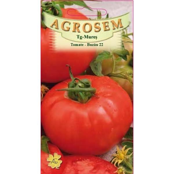 Seminte de rosii timpurii determinate Buzau 22 - 0,5 grame