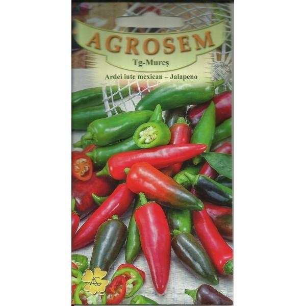 Seminte de ardei iute timpuriu Jalapeno, 0,4 grame, Agrosem