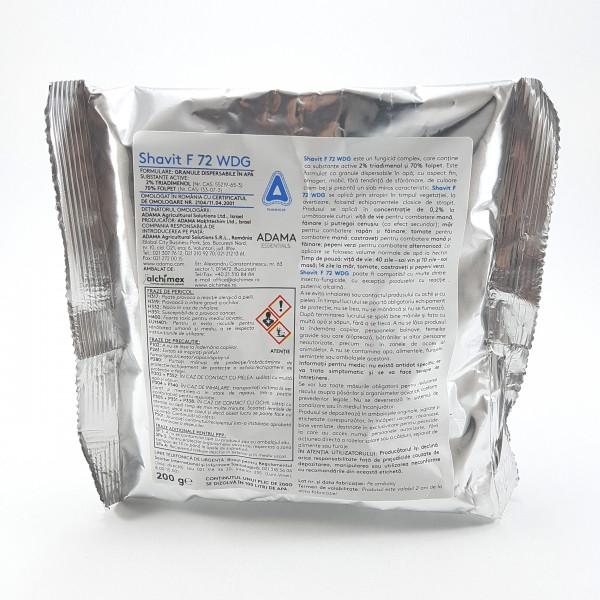 Fungicid SHAVIT 72 WDG, 200 grame
