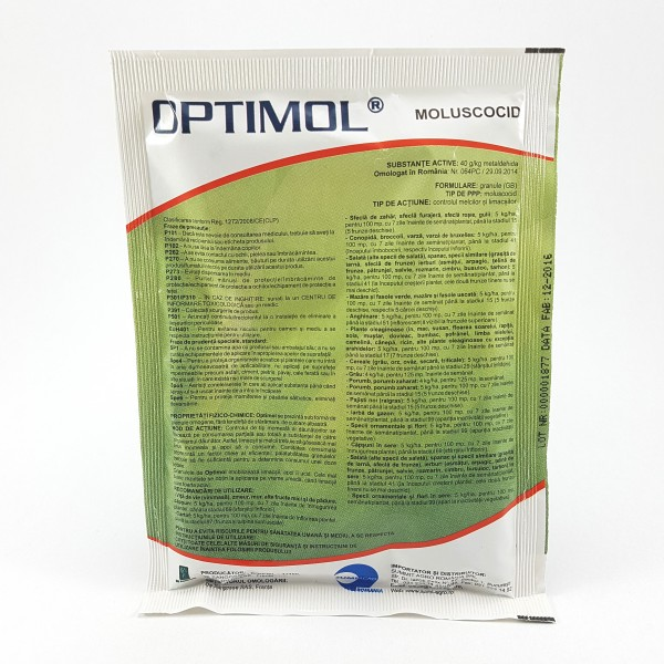 Insecticid Optimol, 5 Kg, De Sangosse
